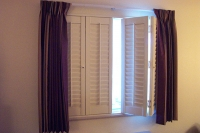 Partially Open Shutters