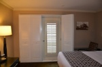 Hotel Room Balcony Doors - Bi-Fold Shutters